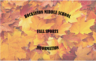Fall leaves for Fall sports