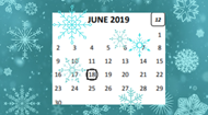updated June 2019 calendar
